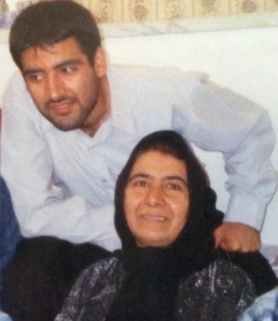 مجید توکلی و مادرش